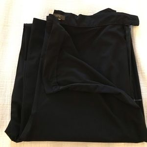 Jcrew sleek stretch black pant